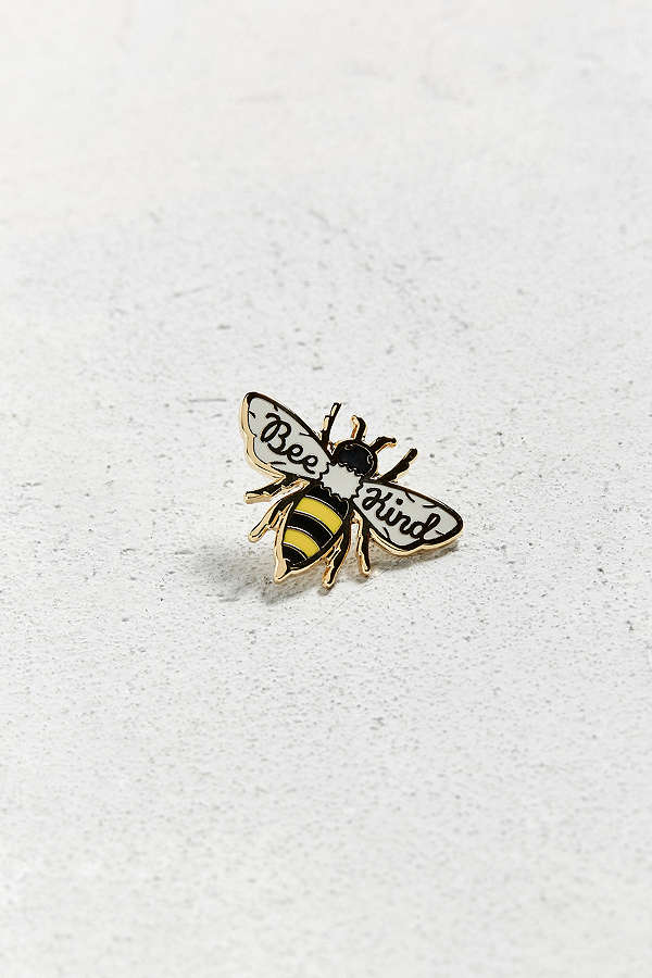 Bee Kind Pin - Urban Outfitters